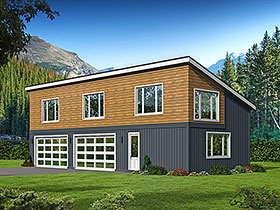 Garage Plan 51625