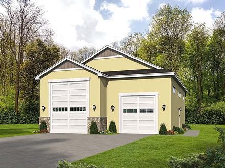Garage Plan 51626