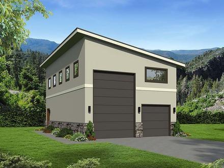Garage Plan 51674