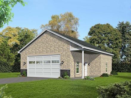 Garage Plan 51683
