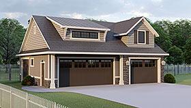 Garage Plan 51870