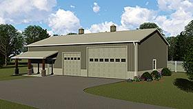 Garage Plan 51873