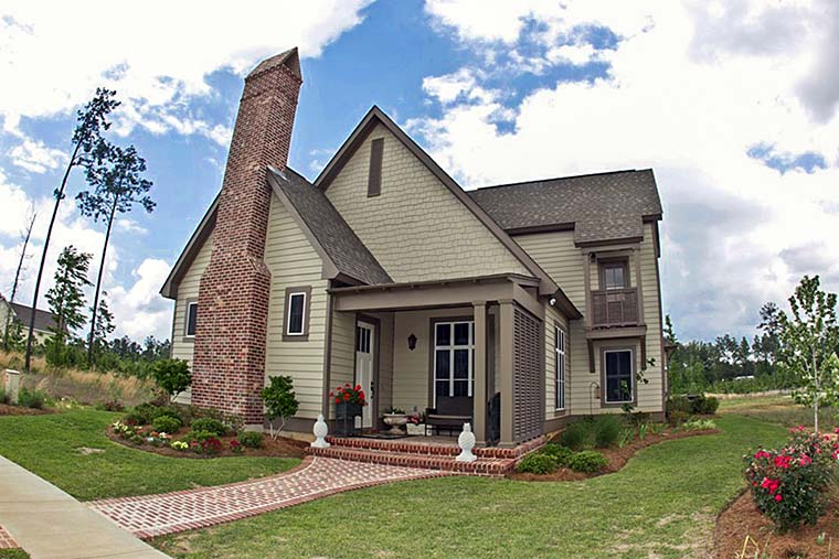Cottage Country Craftsman Southern Traditional House Plan 51928 Elevation
