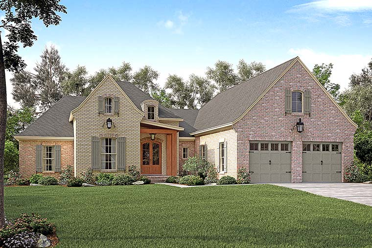 Country European French Country House Plan 51937 Elevation