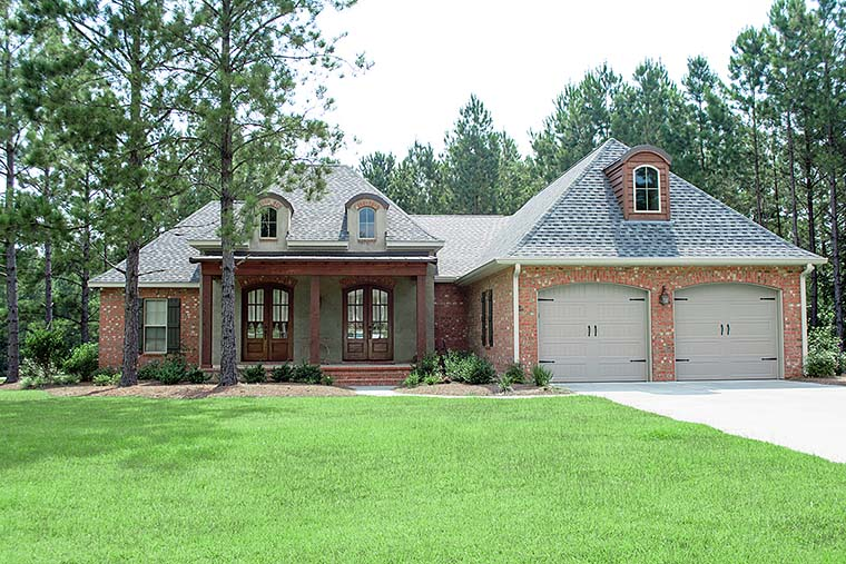 Country European French Country House Plan 51950 Elevation