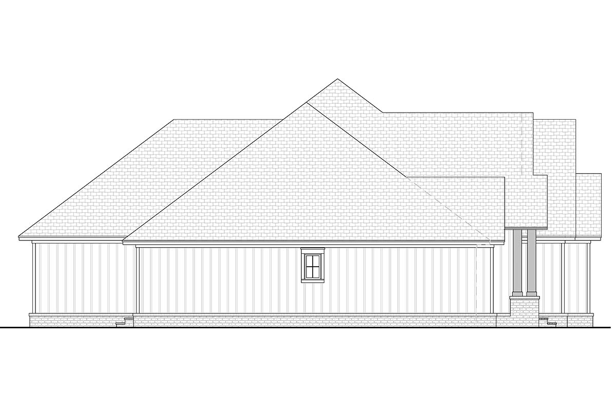 Country, Craftsman, Farmhouse House Plan 51992 with 3 Beds, 3 Baths, 2 Car Garage Picture 2