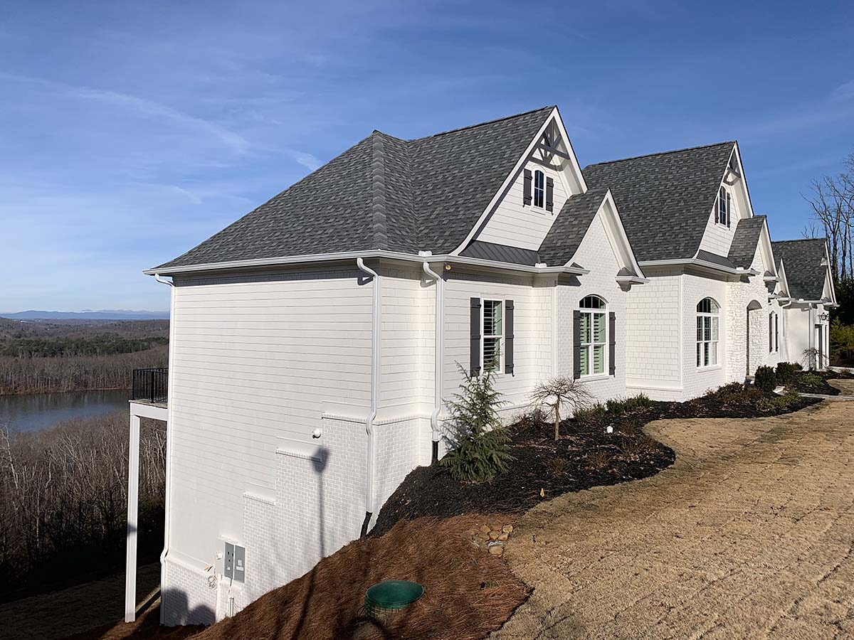 Craftsman, Traditional House Plan 52010 with 4 Beds, 5 Baths, 4 Car Garage Picture 2