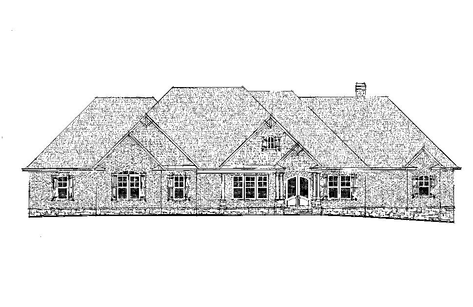 Craftsman, Ranch, Tudor House Plan 52021 with 4 Beds, 5 Baths, 3 Car Garage Picture 22