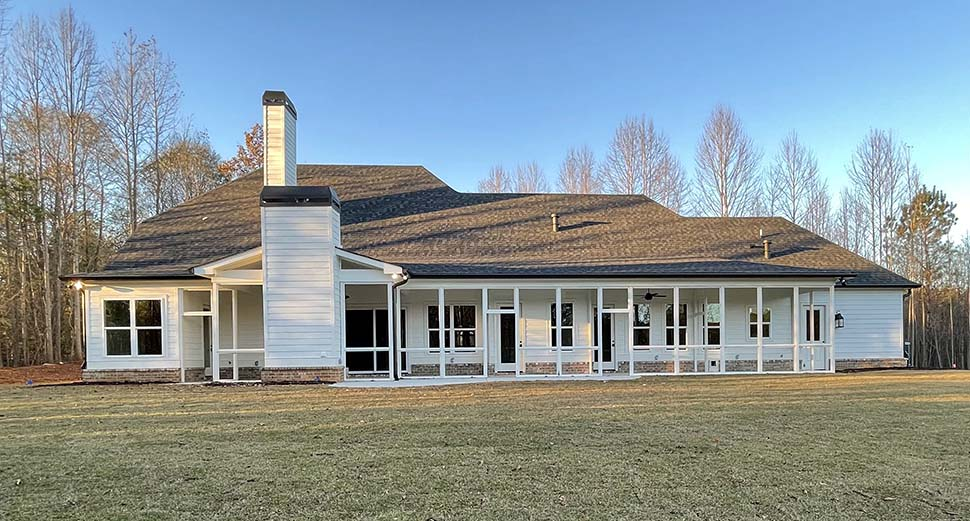 Craftsman, Farmhouse House Plan 52030 with 4 Beds, 4 Baths, 4 Car Garage Picture 13