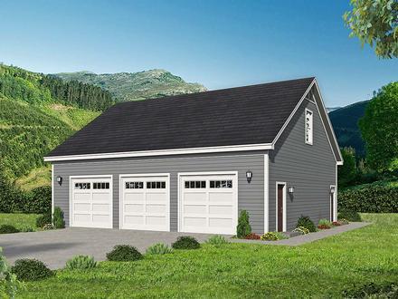 Garage Plan 52106