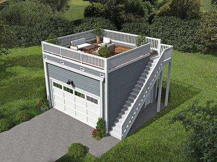 Garage Plan 52107