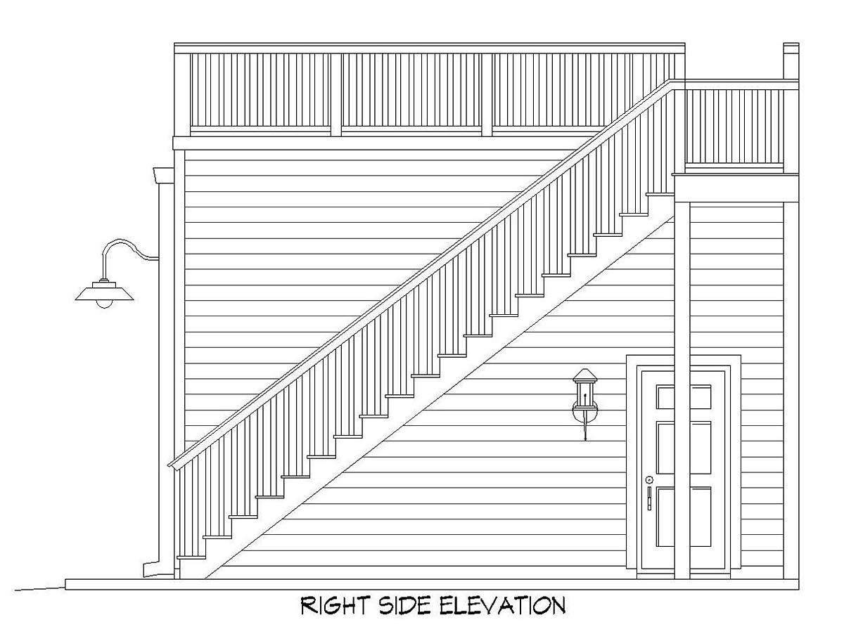 2 Car Garage Plan 52107 Picture 1