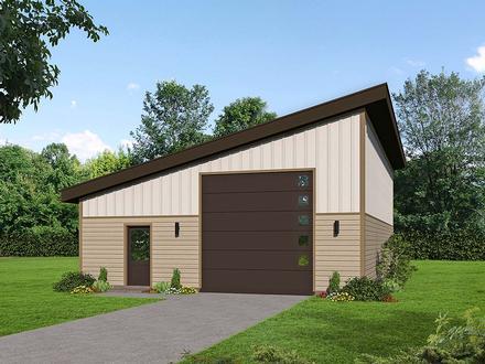 Garage Plan 52112