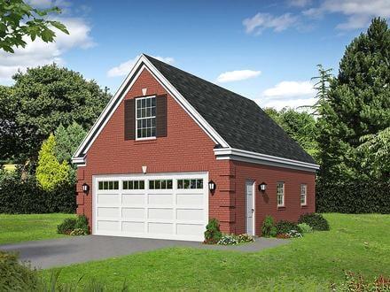 Garage Plan 52114