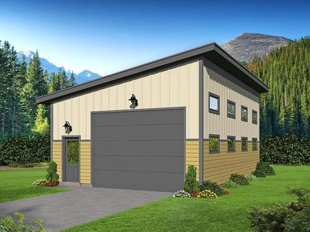 Garage Plan 52130