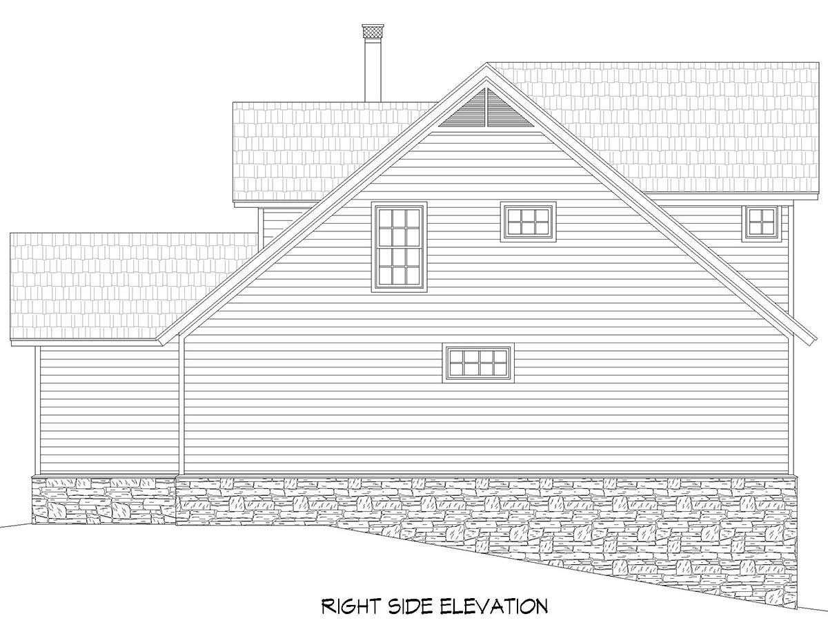 Country, Farmhouse House Plan 52131 with 3 Beds, 2 Baths Picture 1