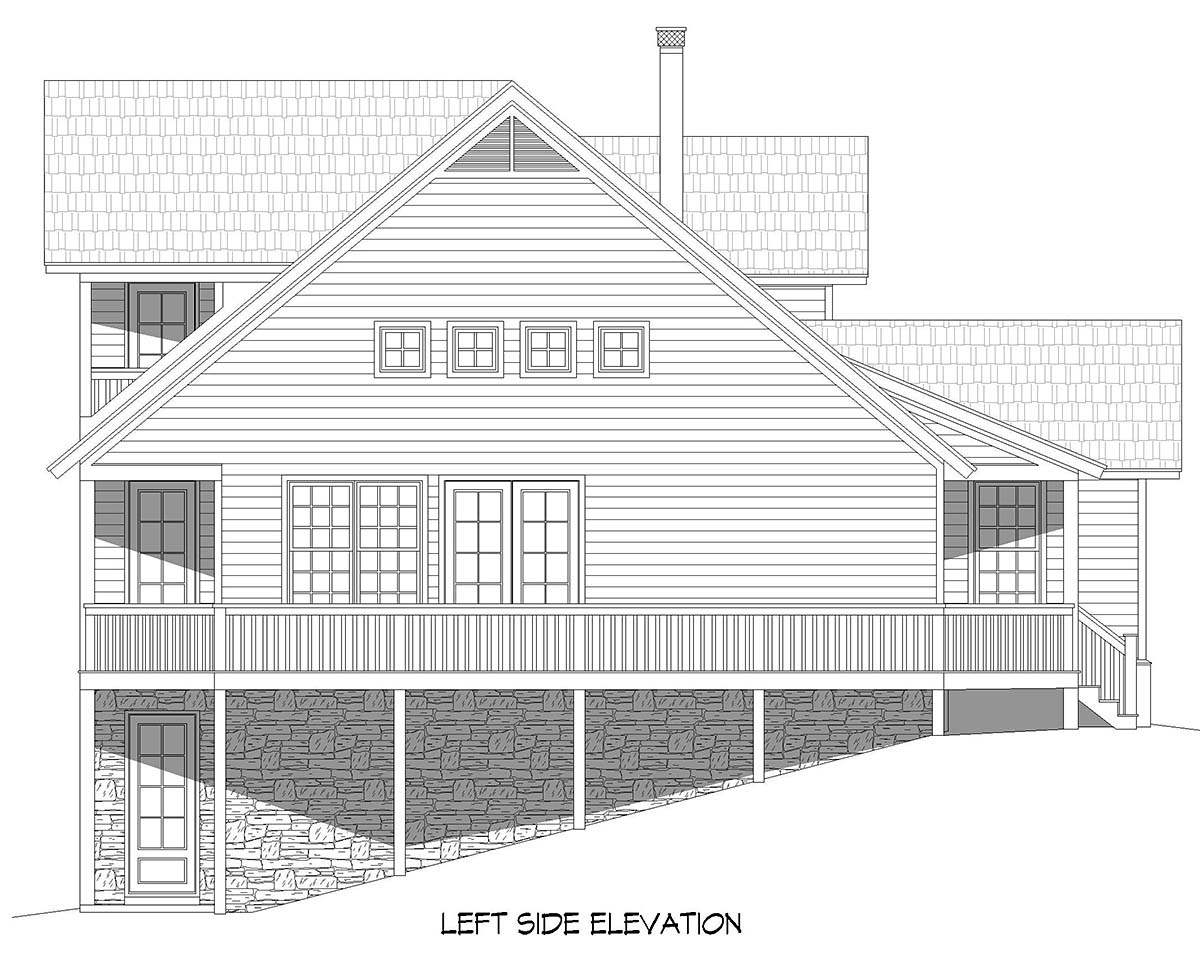 Country, Farmhouse House Plan 52131 with 3 Beds, 2 Baths Picture 2