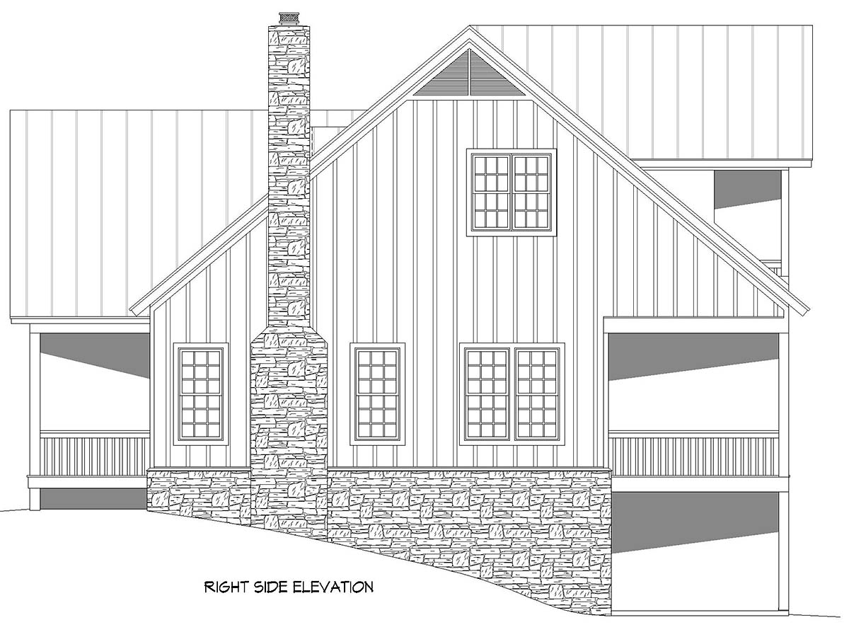Bungalow, Country, Craftsman, Farmhouse House Plan 52140 with 3 Beds, 4 Baths, 2 Car Garage Picture 1
