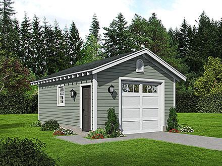 Garage Plan 52154