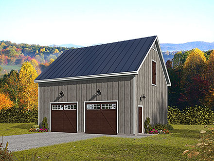 Garage Plan 52158