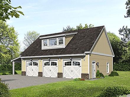 Garage Plan 52178