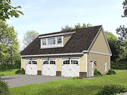 Garage Plan 52179
