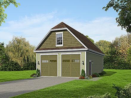 Garage Plan 52180