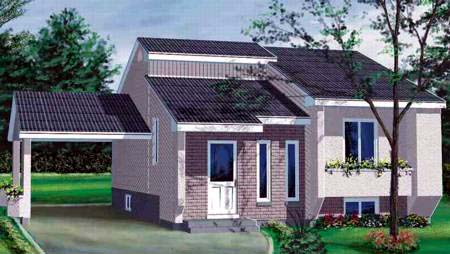 House Plan 52368 Elevation