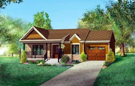 House Plan 52515 Elevation