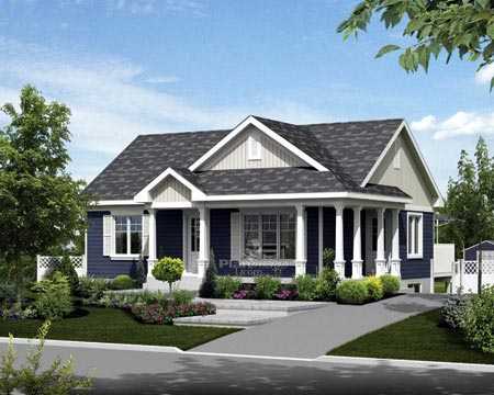 House Plan 52549 Elevation