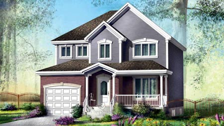 House Plan 52574 Elevation