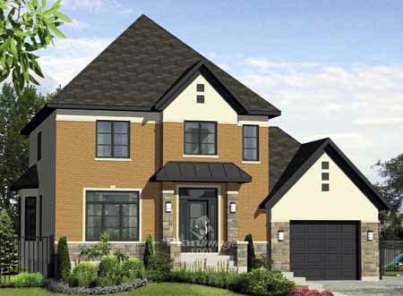 House Plan 52665 Elevation