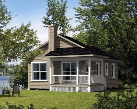 House plan 52785 at - Casas de campo bonitas ...