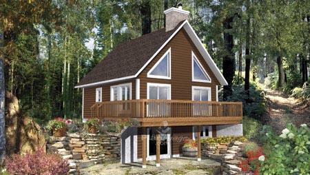 House Plan 52801 Elevation