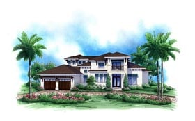 Plan Number 52904 - 4351 Square Feet