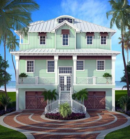 Florida Elevation of Plan 52906