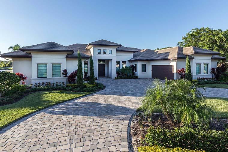 Florida Mediterranean House Plan 52914 Elevation