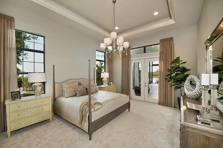 Coastal, Florida, Mediterranean House Plan 52919 with 4 Beds, 5 Baths, 3 Car Garage Picture 10