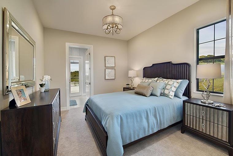 Coastal, Florida, Mediterranean House Plan 52919 with 4 Beds, 5 Baths, 3 Car Garage Picture 6