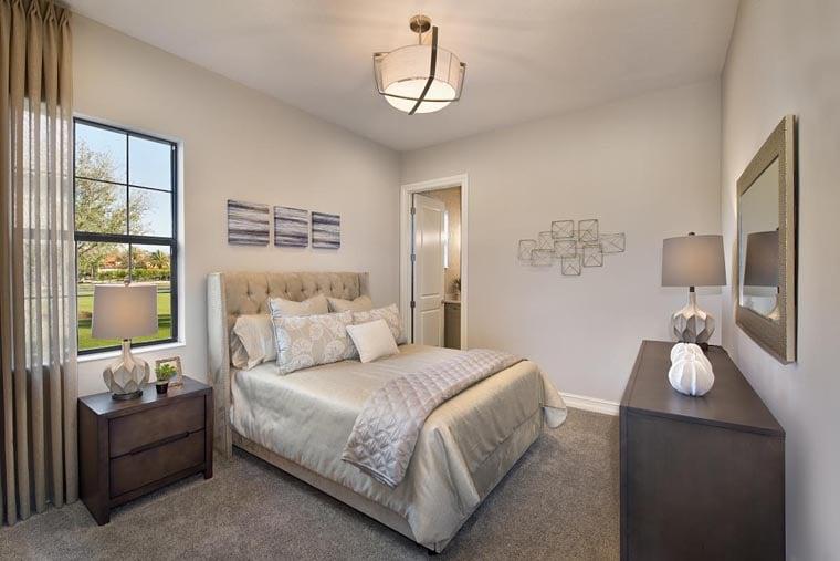 Coastal, Florida, Mediterranean House Plan 52919 with 4 Beds, 5 Baths, 3 Car Garage Picture 7