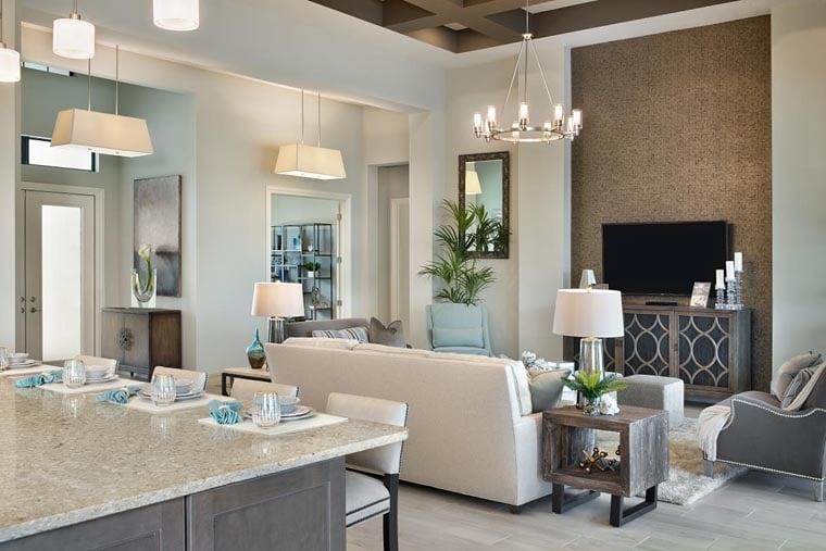 Coastal, Florida, Mediterranean House Plan 52919 with 4 Beds, 5 Baths, 3 Car Garage Picture 8