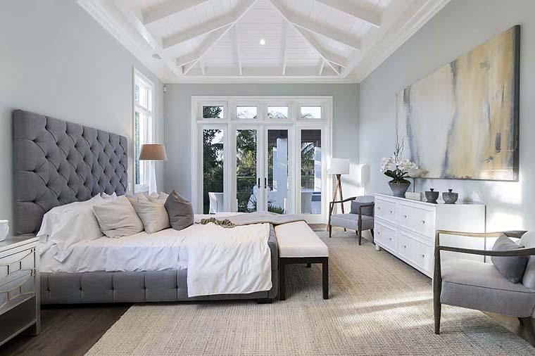 Coastal, Florida, Mediterranean House Plan 52928 with 4 Beds, 6 Baths, 4 Car Garage Picture 10