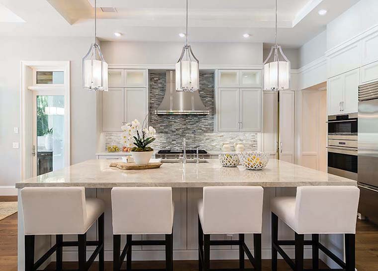Coastal, Florida, Mediterranean House Plan 52928 with 4 Beds, 6 Baths, 4 Car Garage Picture 6