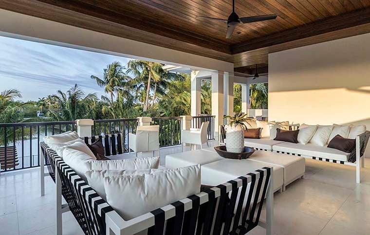 Coastal, Florida, Mediterranean House Plan 52928 with 4 Beds, 6 Baths, 4 Car Garage Picture 7