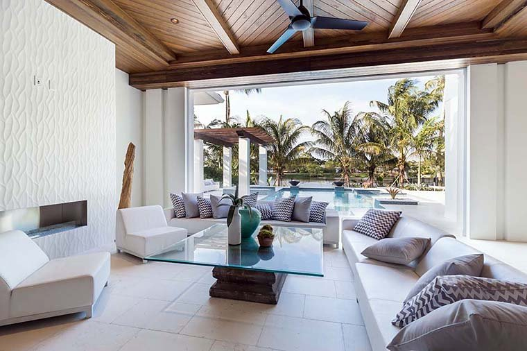 Coastal, Florida, Mediterranean House Plan 52928 with 4 Beds, 6 Baths, 4 Car Garage Picture 8