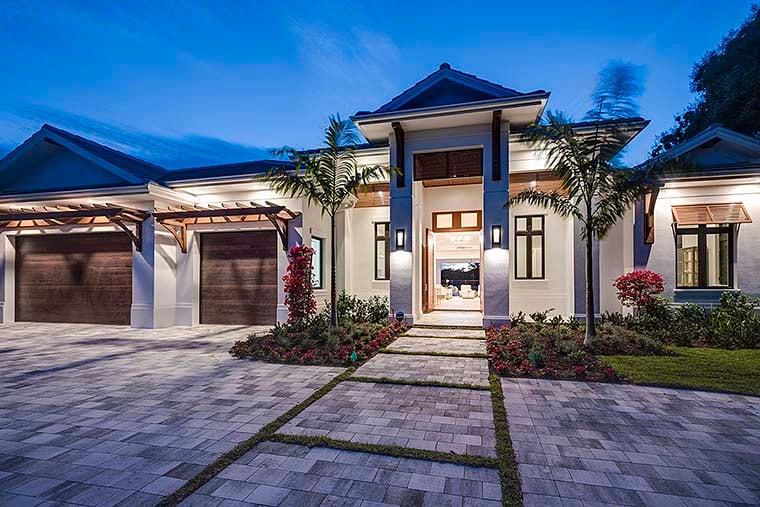 Coastal Florida House Plan 52937 Elevation