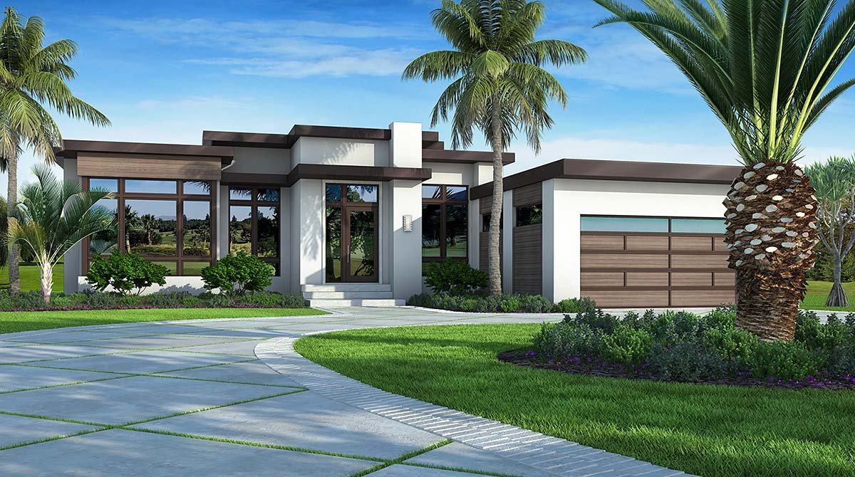Southwest Style House Plan 52966 With 3 Bed 4 Bath 2 Car Garage