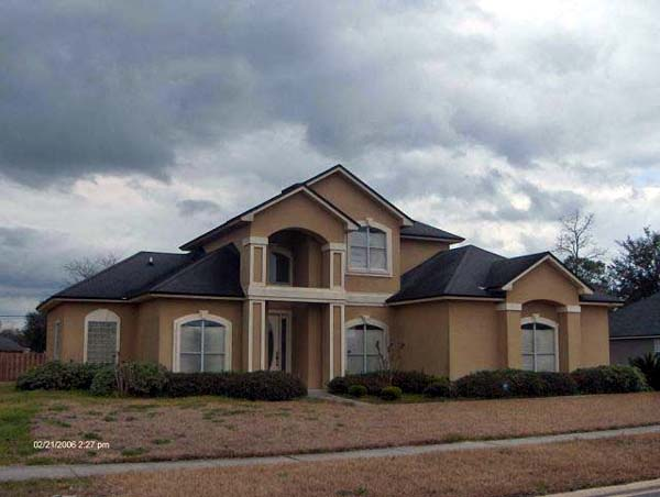 House Plan 53246 with 3 Beds, 3 Baths, 2 Car Garage Elevation
