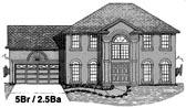 Plan Number 53462 - 2456 Square Feet