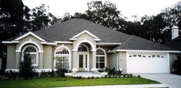 House Plan 53542 Elevation